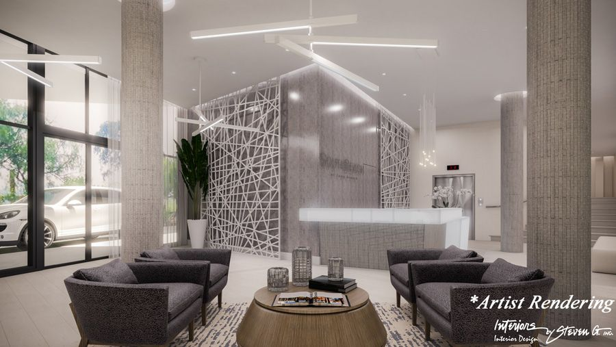 Lobby of South Beach at Long Branch