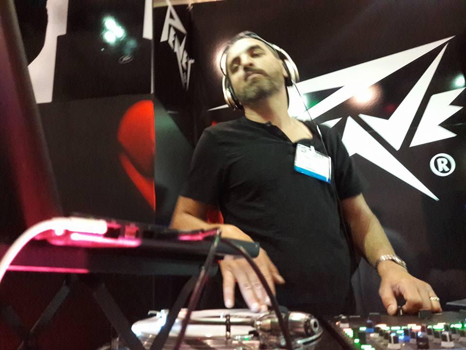 DJ Greggie C - Peavey DJ