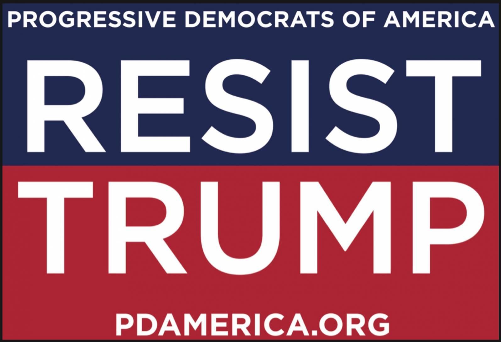 Progressives Resist Trump