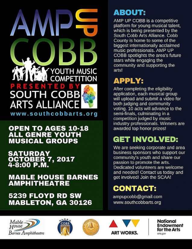 AMP UP COBB Flyer