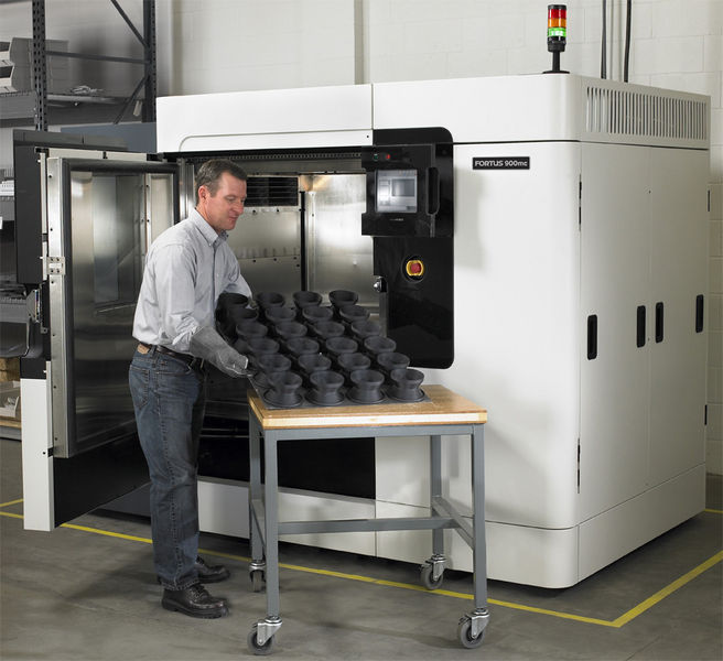 Stratasys Fortus 900mc is the centerpiece of the lab