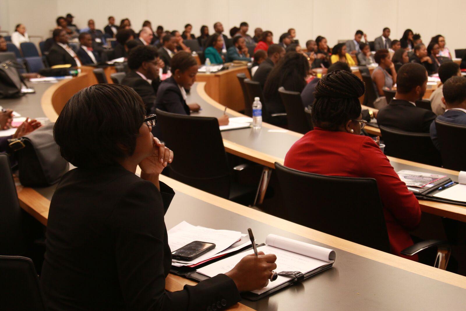 Students Listening During Workshops