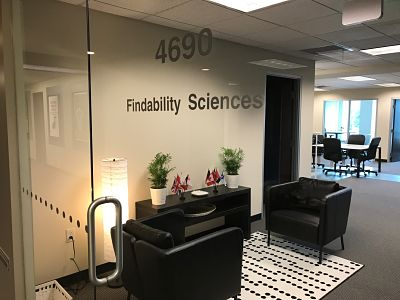 Findability Sciences' office at 128 Tradecenter