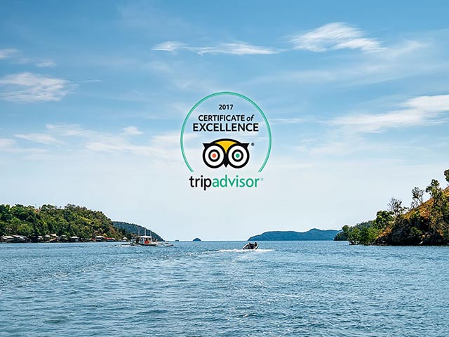 Club Paradise Palawan Certificate of Excellence