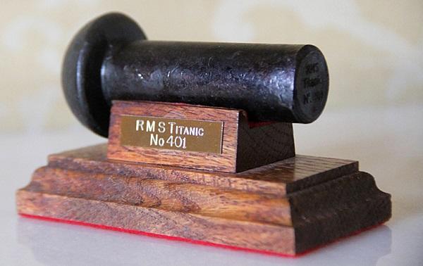 RMSTitanic Rivet