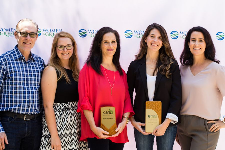2017 Women In Green Forum Trailblazer Award and Care2 Impact Award