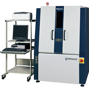 The Rigaku Ultima IV X-ray diffractometer (XRD).