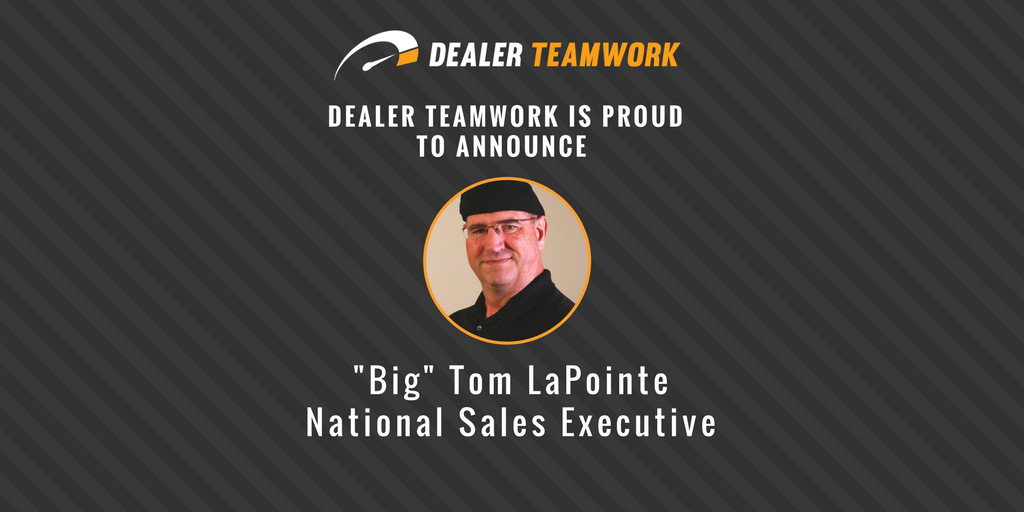 Big Tom LaPointe - National Sales Executive