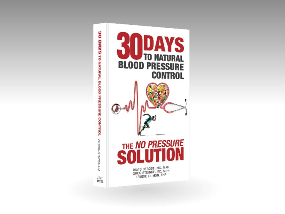 """Thirty Days to Natural Blood Pressure Control,"" a top ten Amazon Prev Med eBook"