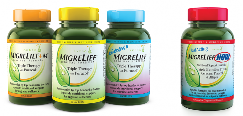 Available in Daily and Fast-Acting Migraine Formulas
