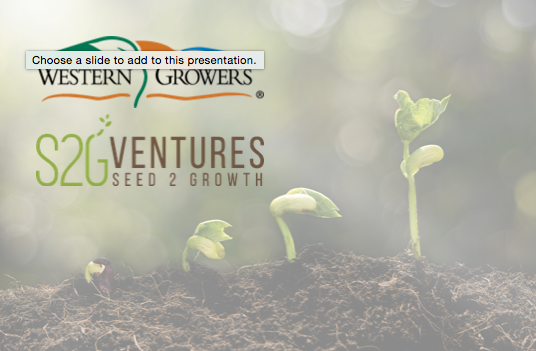 S2G + Western Growers Partnership