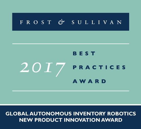 2017 Global Autonomous Inventory Robotics New Product Innovation Award