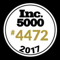 Proud Recipient of Inc.5000