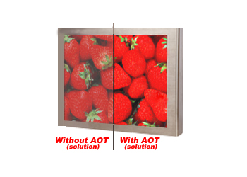 Comparsion with Optical Bonding