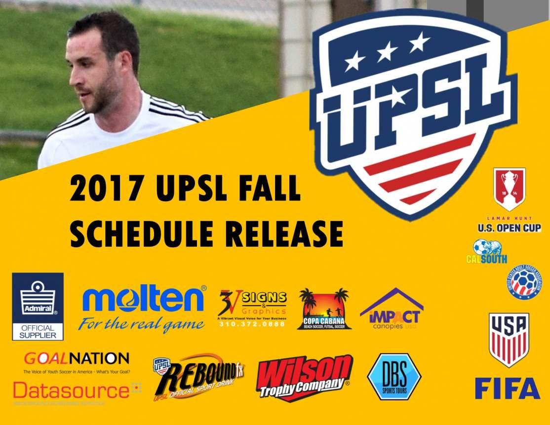 UPSL_Fall Schedule