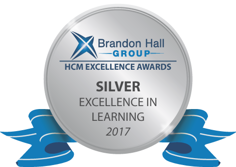 2017 Silver Brandon Hall Group Award
