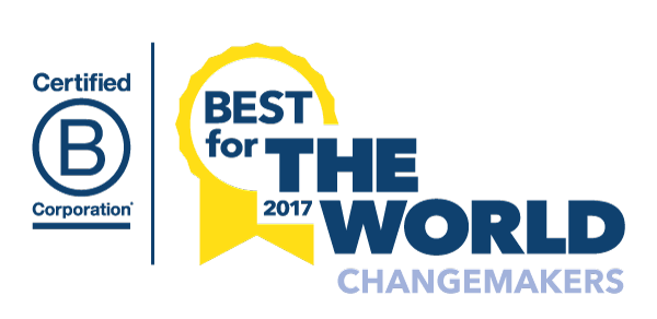 Enrollment Resources Awarded 2017 Best For The World: Changemakers
