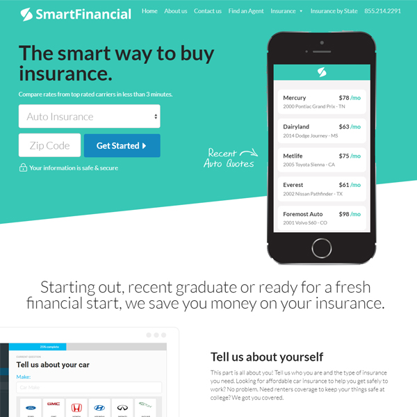SmartFinancial.com - Insurance Comparison Shopping