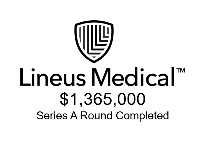 Lineus Medical $1.365M Series A Round Completed