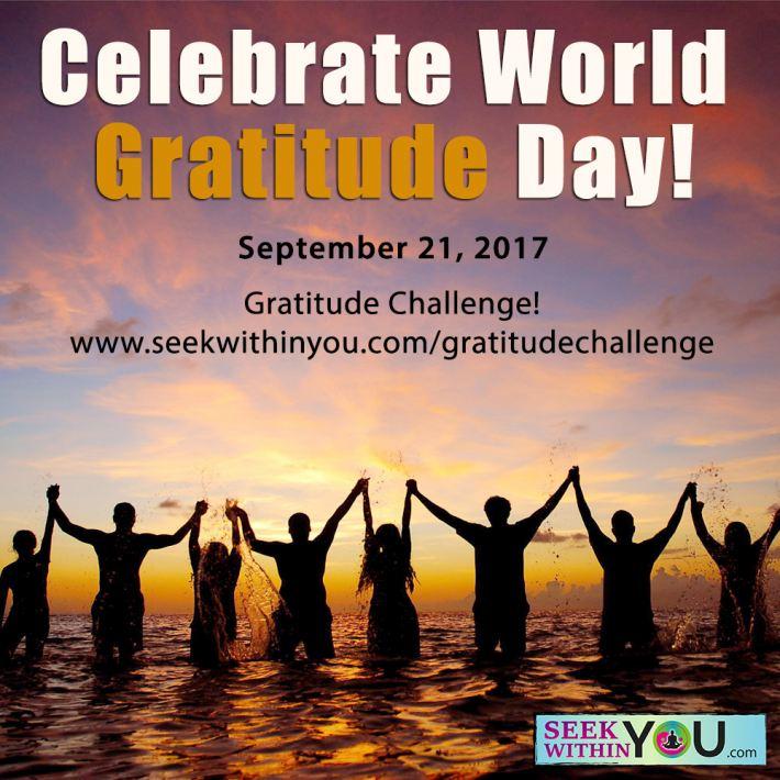 Celebrate World Gratitude Day