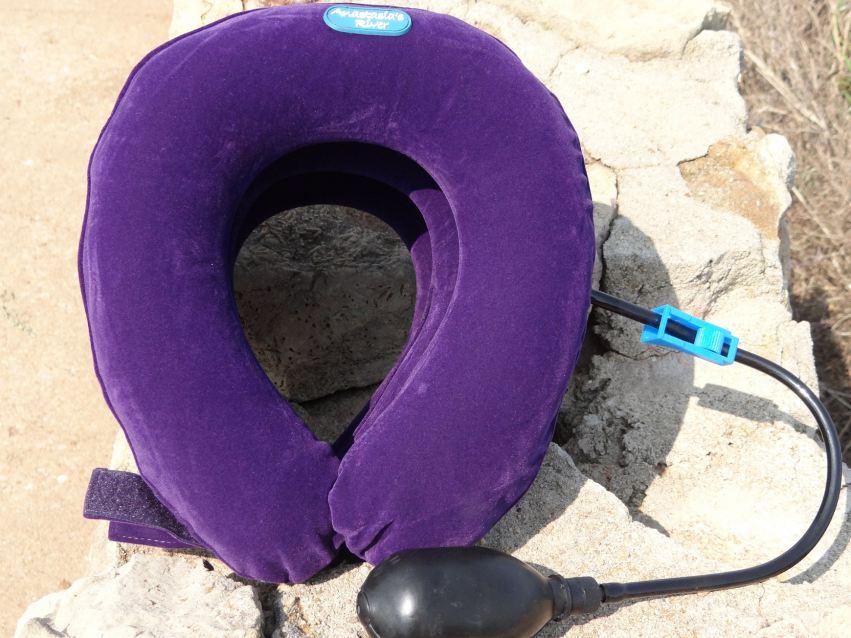 Purple Neck Traction Pillow