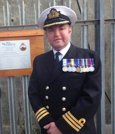 Commander Neil Hall, Royal Navy