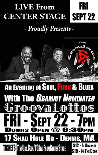The GroovaLottos Live From Center Stage