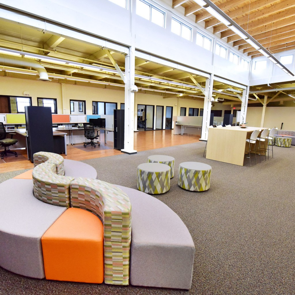Systems Furniture interior design workspace