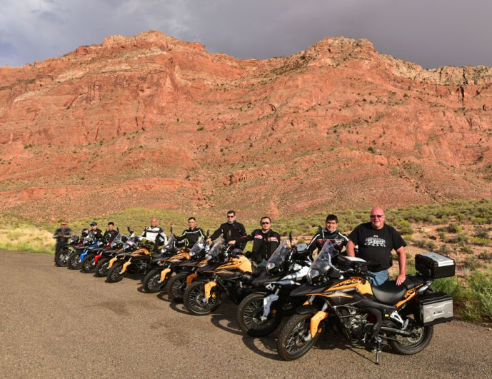 CSC Riders Enroute To Grand Canyon