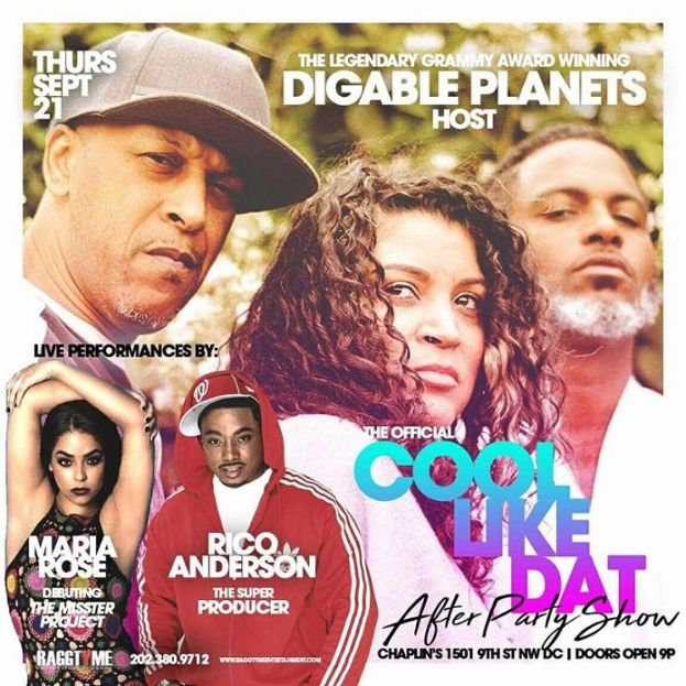 """RaggTyme Entertainment Presents....""""Cool Like Dat"""" Digable ..."""