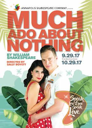 Annapolis Shakespeare Company's MUCH ADO ABOUT NOTHING.  Photo Joshua McKerrow.