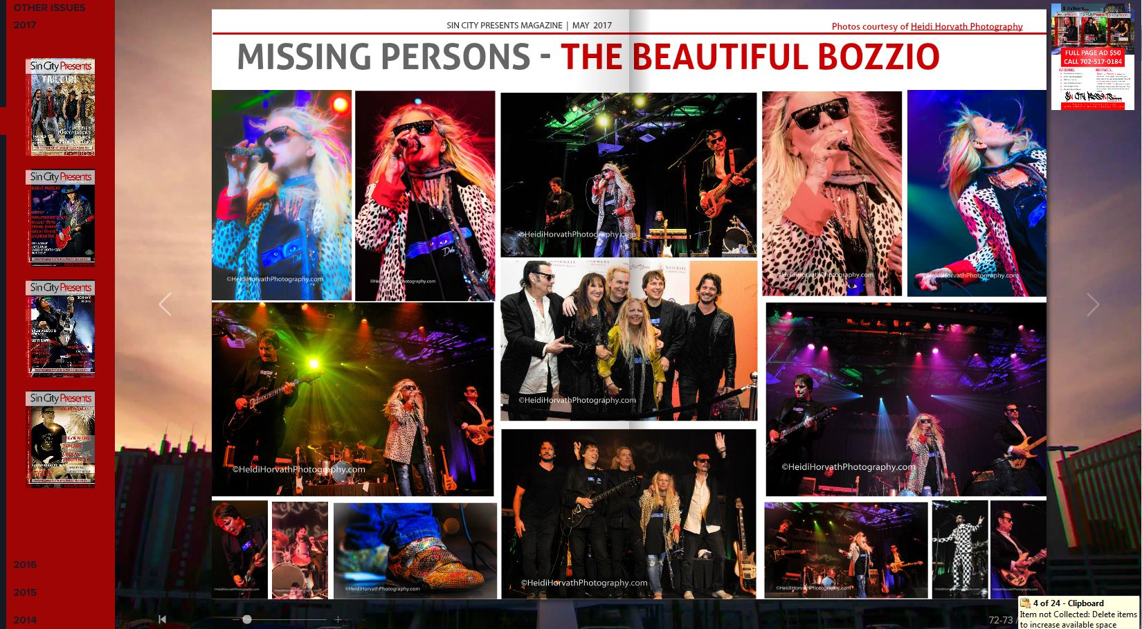 Missing Persons Band Long Beach