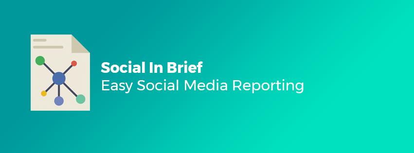 Easy Social Media Reporting