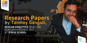 Research Papers by Tanmoy Ganguli, Selected for Convergence 2017