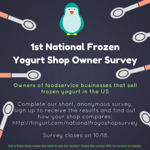 National Frozen Yogurt Owner Survey