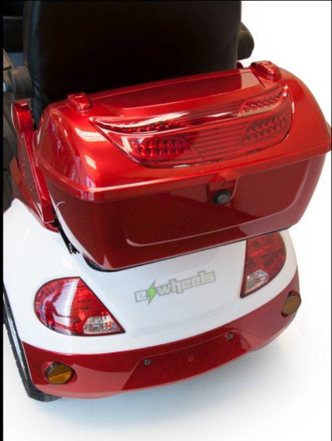 Ew 42 Red Electric Mobility Scooter Cargo Box