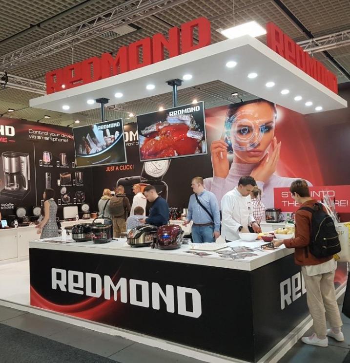 redmond presented smart appliances at ifa 2017 in berlin. Black Bedroom Furniture Sets. Home Design Ideas
