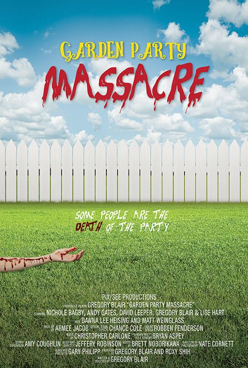 """Garden Party Massacre"" Poster"