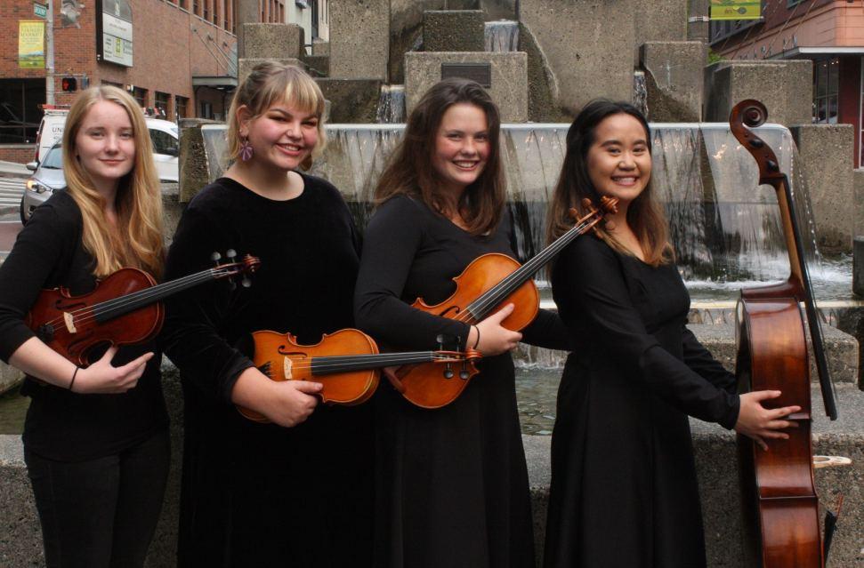 The Tacoma School of the Arts String Quartet