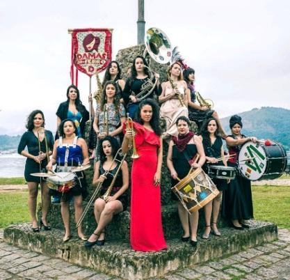 HONK! Festival Band: Damas de Ferro from Rio de Janeiro