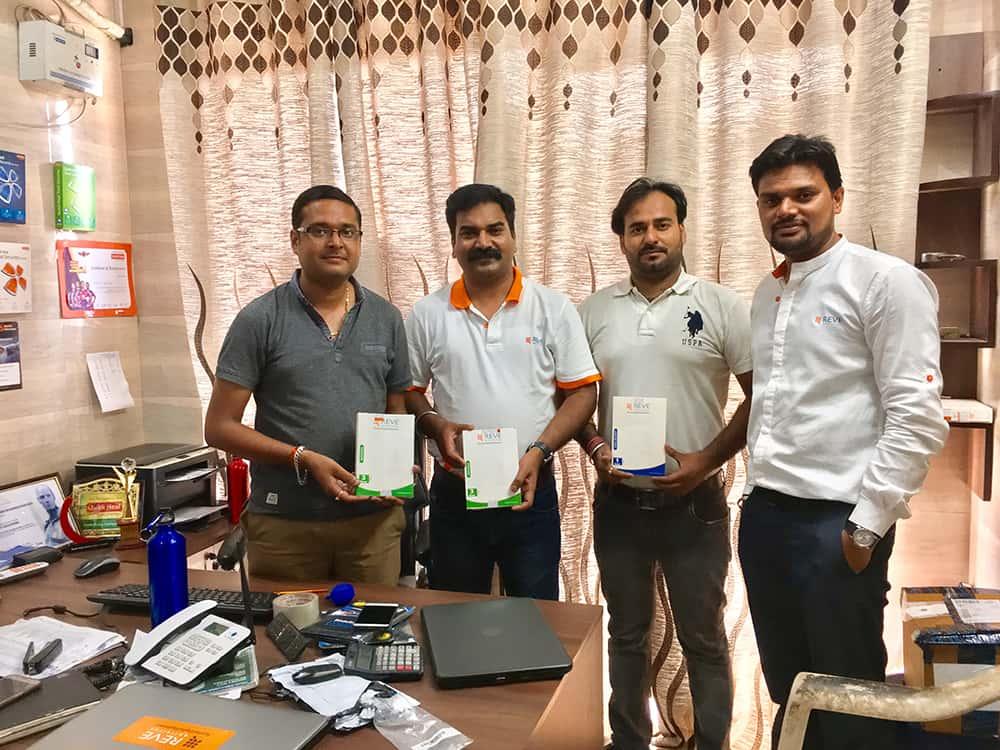 REVE Antivirus Sales Head Sushant Pawar at Shree Balaji Computers