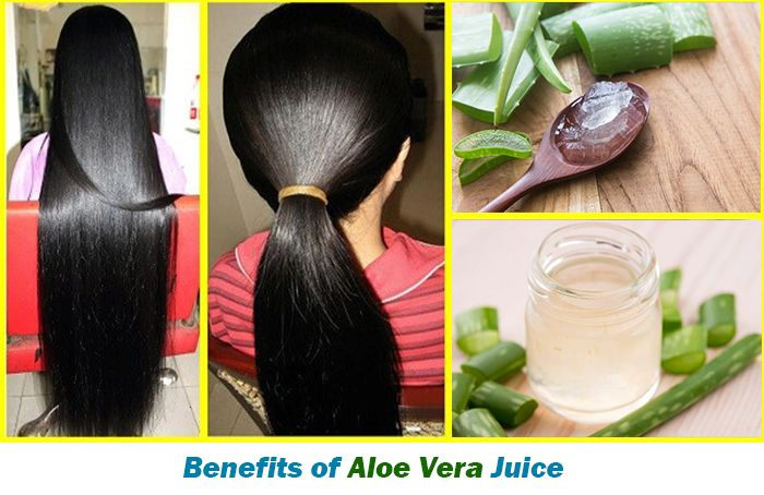 Aloe Vera Juice for Hair