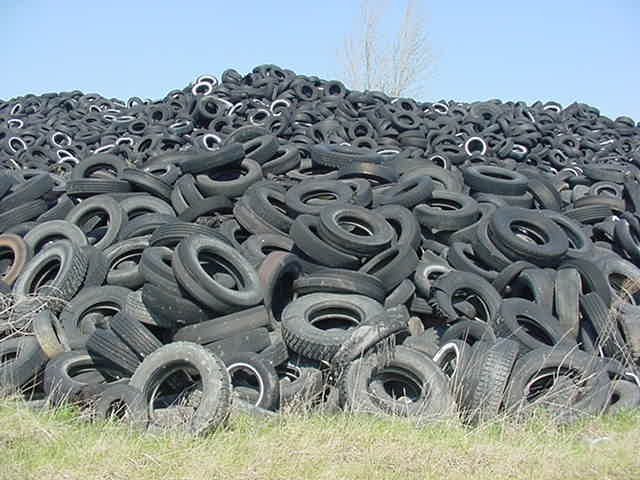 10 million pounds of old tires recycled and used in Porous Pave permeable paving