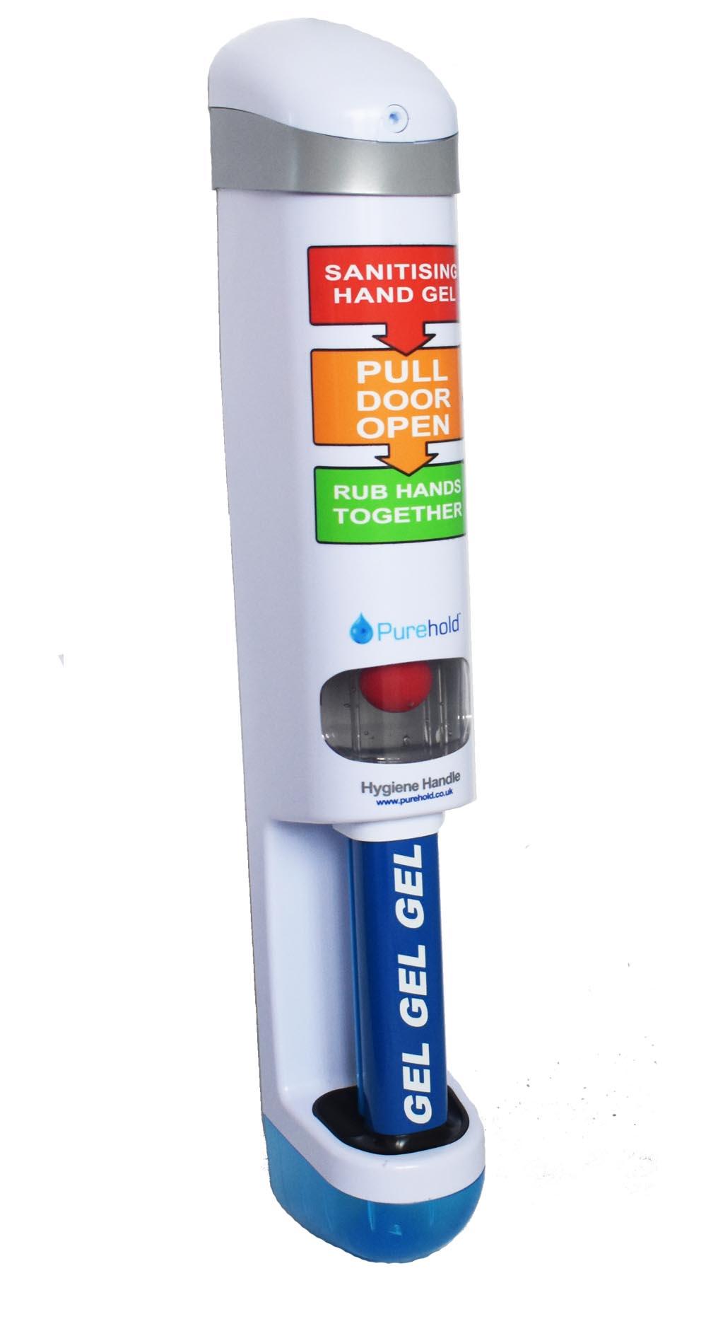 Sanitising Door Handle