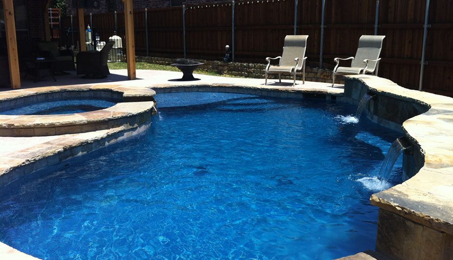 Premier Pool Builder In Dallas Texas Hopkins Custom