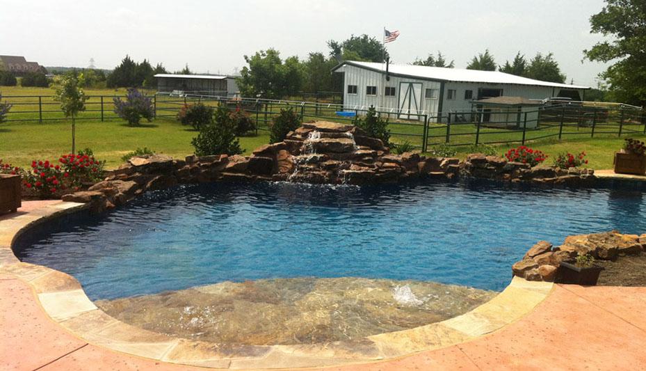 Premier Pool Builder In Dallas Texas Hopkins Custom