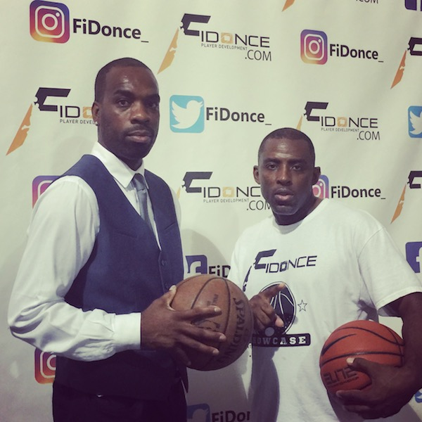 Fahreed Cheatham (Alumni League) and Eric Evans (FiDonce Gymnasium)