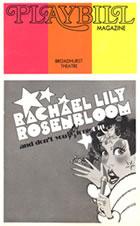 Rachael Lily Rosenbloom Playbill