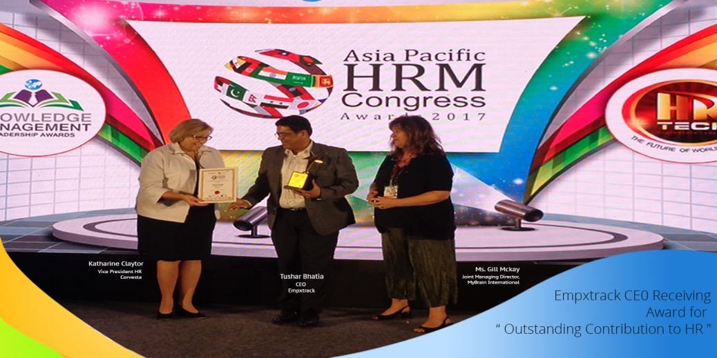 Glimpses of Asia Pacific HRM Congress 2017 - Tushar Bhatia