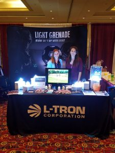 L-Tron's Booth at TacOps East 2017
